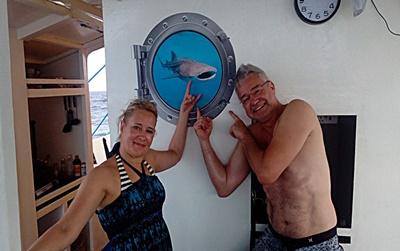 Tauchsafari Philippinen, Walhaie